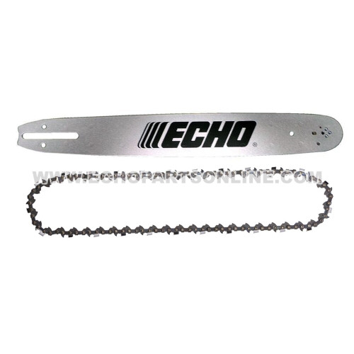 Echo CS-490 Bar and Chain 18F0AD3372 & 20BPX72CQ front view