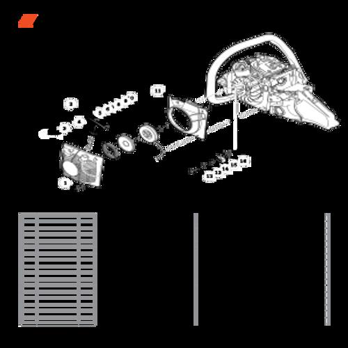 CS-590 SN: C25812001001-C25812999999 - Starter Parts lookup