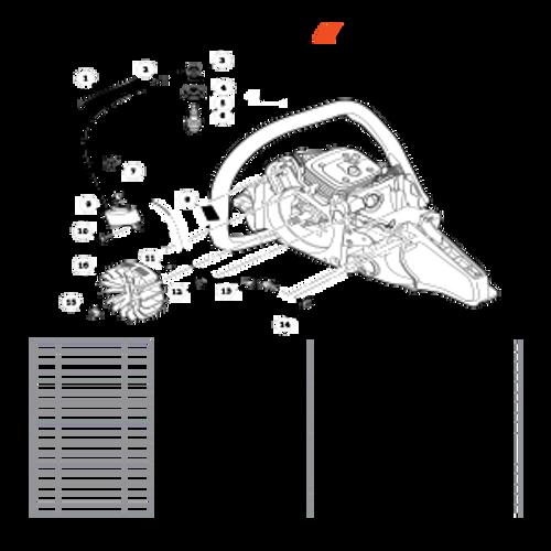 CS-590 SN: C25812001001-C25812999999 - Ignition Parts lookup