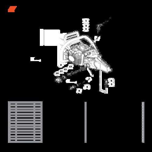 CS-590 SN: C25812001001-C25812999999 - Fuel System Parts lookup