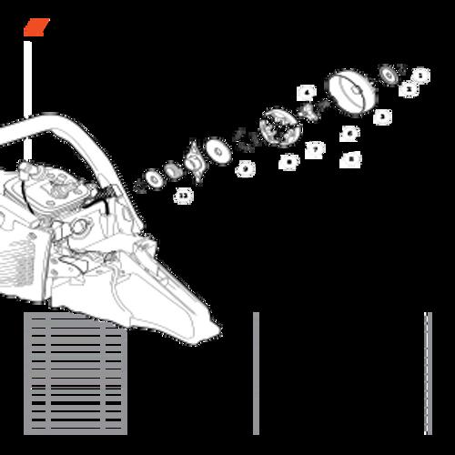 CS-590 SN: C25812001001-C25812999999 - Clutch Parts lookup