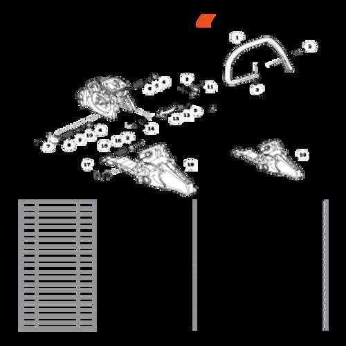 CS-590 SN: C25812001001-C25812999999 - Handles Parts lookup