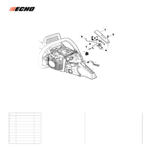 CS-590 SN: C25812001001-C25812999999 - Throttle Control Parts lookup