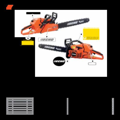 CS-590 SN: C25812001001-C25812999999 - Labels Parts lookup