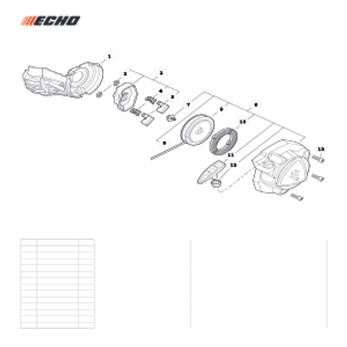 PB-2520 Handheld SN: P47115001001-P4711599999 - Starter Parts lookup