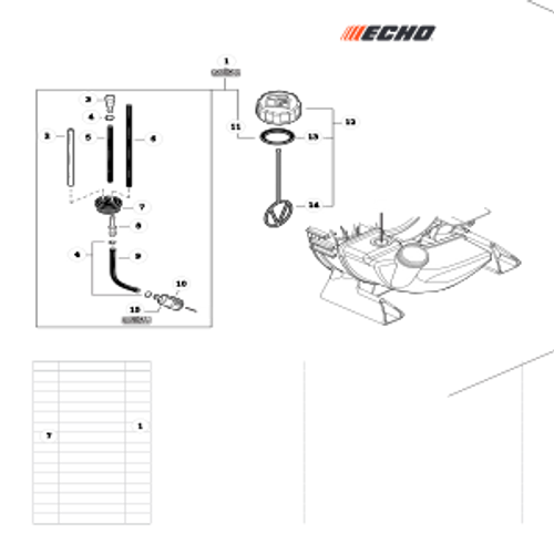 PB-2520 Handheld SN: P47115001001-P4711599999 - Fuel System Parts lookup