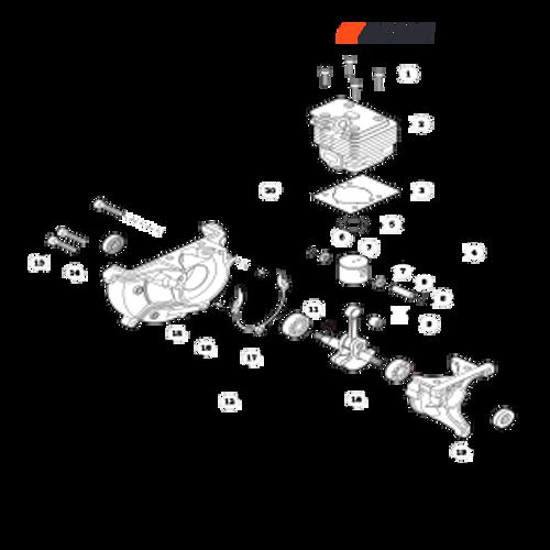 PB-2520 Handheld SN: P46814001001 - P46814999999 - Engine Parts lookup