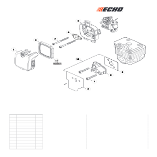 PB-2520 Handheld SN: P46814001001 - P46814999999 - Intake Parts lookup