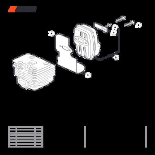 PB-2520 Handheld SN: P46814001001 - P46814999999 - Exhaust Parts lookup