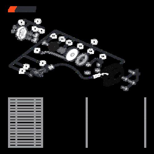 SRM-266 SN: T47514001001 - T47514999999 - Starter Parts lookup
