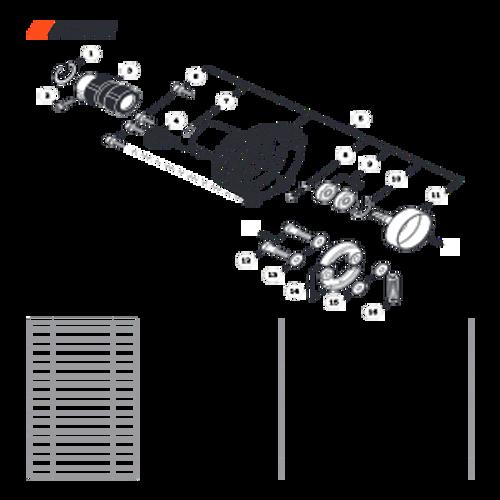 SRM-266 SN: T47514001001 - T47514999999 - Fan Case Parts lookup