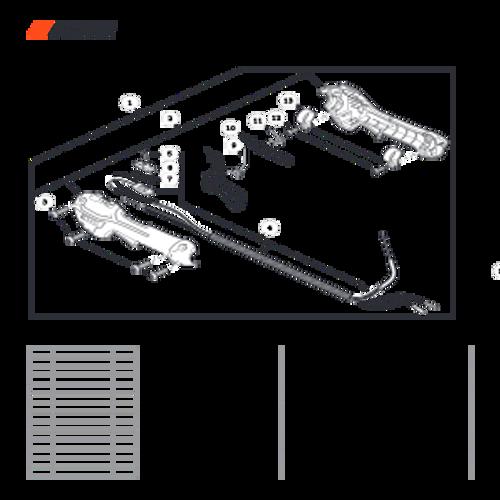 SRM-266 SN: T47514001001 - T47514999999 - Control Handle Parts lookup