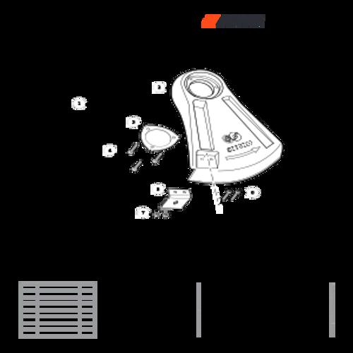 SRM-266 SN: T47514001001 - T47514999999 - Debris Shield Parts lookup