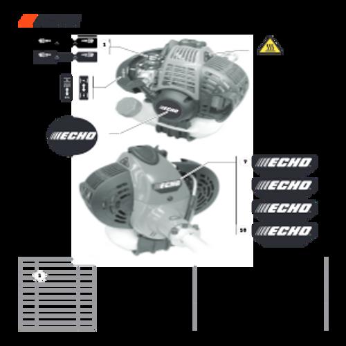SRM-266 SN: T47514001001 - T47514999999 - Labels Parts lookup