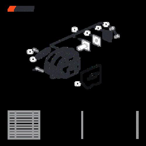 CS-501P SN: C36712001001 - C36712999999 - Exhaust Parts lookup