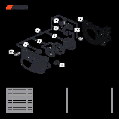 CS-501P SN: C36712001001 - C36712999999 - Recoil Starter Parts lookup