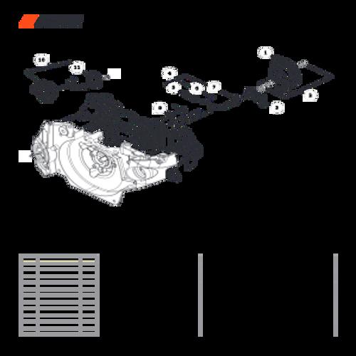CS-501P SN: C36712001001 - C36712999999 - Oil System Parts lookup