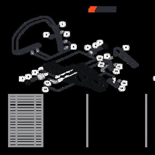 CS-501P SN: C36712001001 - C36712999999 - Handles, Throttle Control Parts lookup