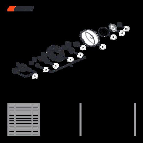 CS-501P SN: C36712001001 - C36712999999 - Clutch Parts lookup