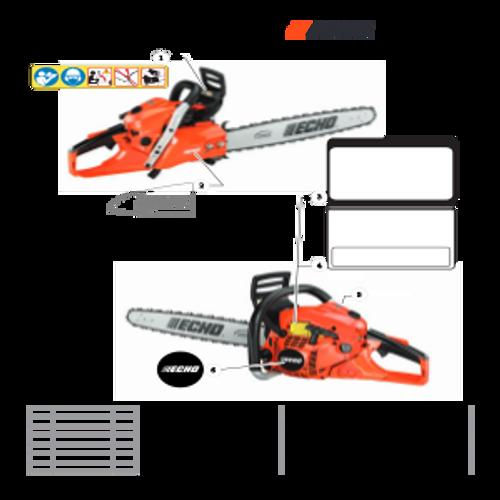 CS-501P SN: C36712001001 - C36712999999 - Labels Parts lookup