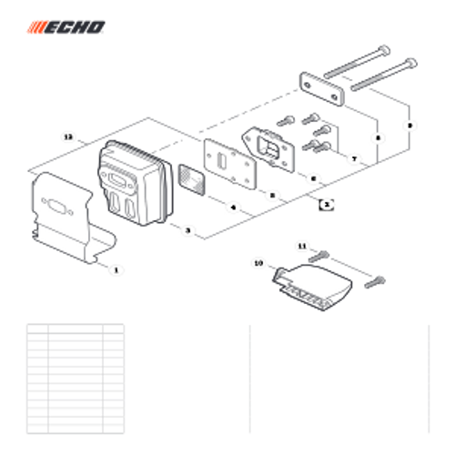SRM-225 SN: U06012001001 - U06012999999 - Exhaust Parts lookup