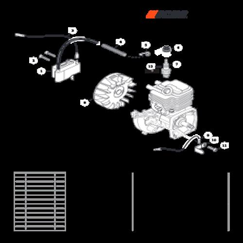 SRM-225 SN: U06012001001 - U06012999999 - Ignition Parts lookup