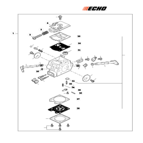 CS-501P SN: C68515001001 - C68515999999 - Carburetor Parts lookup