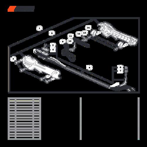 SRM-225 SN: U06012001001 - U06012999999 - Control Handle Parts lookup