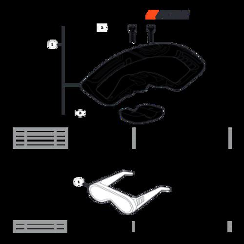 SRM-225 SN: U06012001001 - U06012999999 - Handle - Support Parts lookup