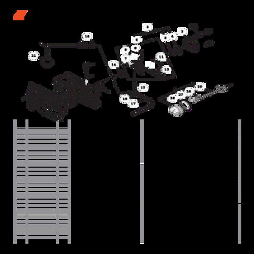 CS-680 SN: C03203001001 - C03203999999 - Oil System Parts lookup