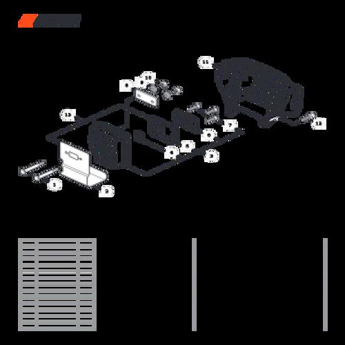 SRM-266T SN: T47714001001 - T47714999999 - Exhaust Parts lookup