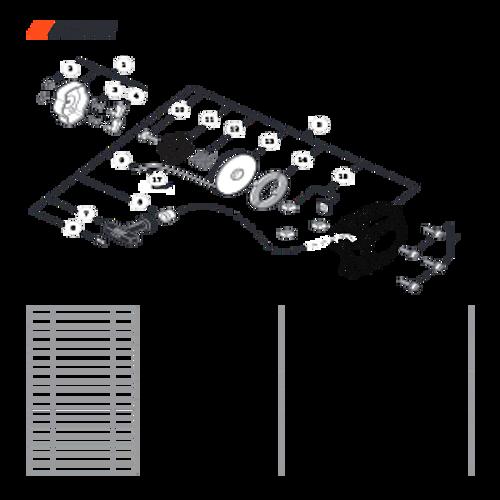 SRM-266T SN: T47714001001 - T47714999999 - Starter Parts lookup
