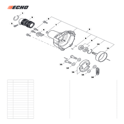 SRM-266T SN: T47714001001 - T47714999999 - Fan Case Parts lookup