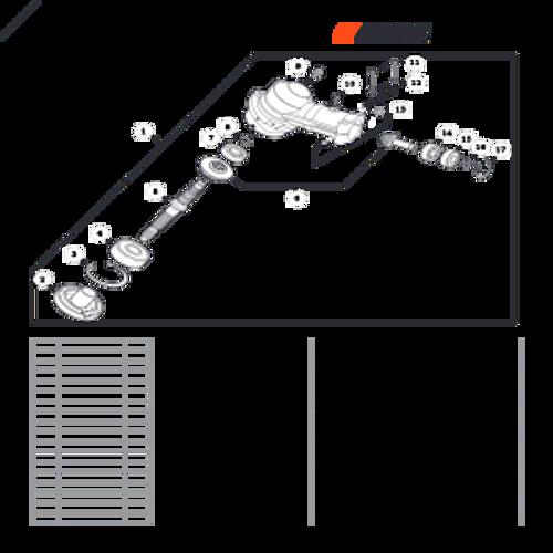 SRM-266T SN: T47714001001 - T47714999999 - Gear Case Parts lookup