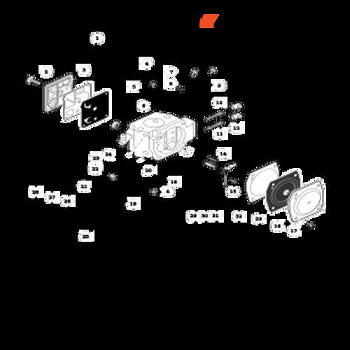 CS-800P SN: C30812001001 - C30812999999 - Carburetor Parts lookup