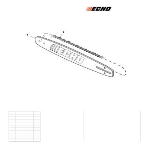 CS-800P SN: C30812001001 - C30812999999 - Chain, Guide Bar Parts lookup