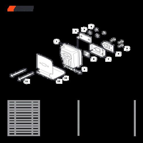 SRM-280 SN: T48014001001 - T48014999999 - Exhaust Parts lookup
