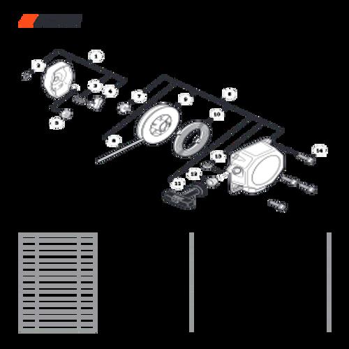 SRM-280 SN: T48014001001 - T48014999999 - Starter Parts lookup