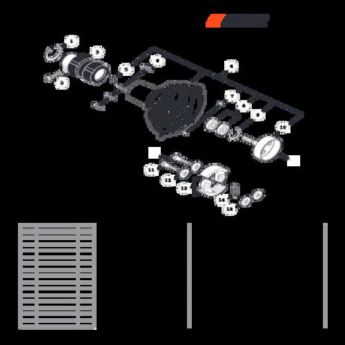 SRM-280 SN: T48014001001 - T48014999999 - Fan Case Parts lookup