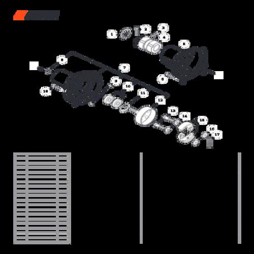 SRM-3020 SN: U09715001001 - U09715999999 - Fan Case Parts lookup