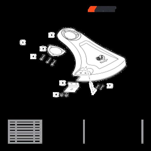 SRM-3020 SN: U09715001001 - U09715999999 - Debris Shield Parts lookup