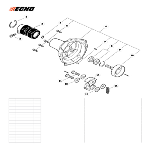 PAS-280 SN: T49914001001 - T49914999999 - Fan Case Parts lookup