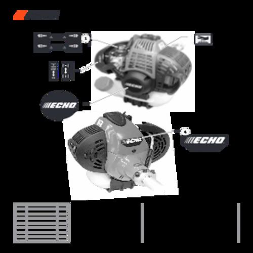 PAS-266 SN: T49814001001 - T49814999999 - Labels Parts lookup