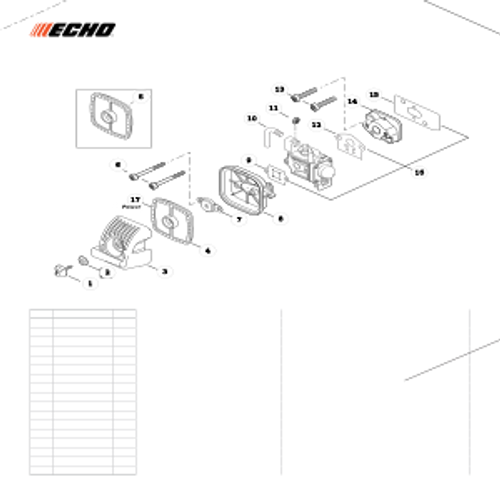 PB-265LN SN: P43014001001 - P43014999999 - Intake, Air Filter Parts lookup
