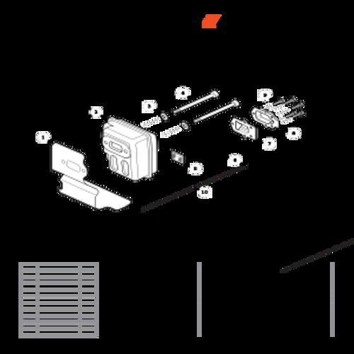 PB-265LN SN: P43014001001 - P43014999999 - Exhaust Parts lookup