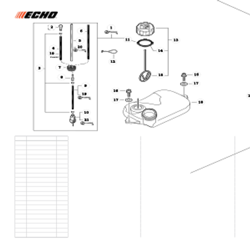 PB-265LN SN: P43014001001 - P43014999999 - Fuel System Parts lookup