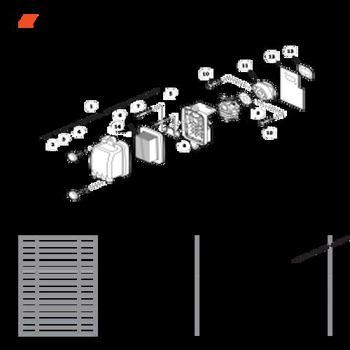 PB-755ST SN: P04112001001 - P04112999999 - Intake S/N: P04112002645 - P04112999999 Parts lookup