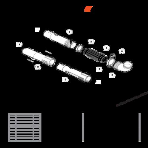 PB-755ST SN: P04112001001 - P04112999999 - Blower Tubes Parts lookup