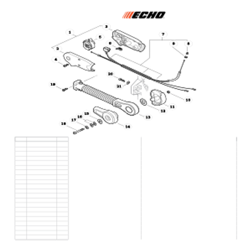 PB-770H SN: P30613001001 - P30613999999 - Hip Mount Throttle Control Parts lookup