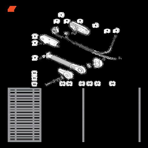 PB-770H SN: P30613001001 - P30613999999 - RePower Hip Mount Throttle Control Kit Parts lookup